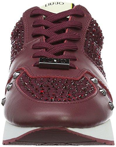 LIU JO Shoes - Sneaker AURA S66011 P0254 - red Red Wine