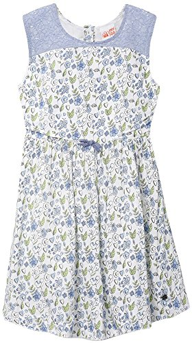 FS Mini Klub Girls' Regular Fit Dress (88KGODR0613 BLUE PRINT 1_4 - 5 Years, Blue, 4 - 5 Years)  available at amazon for Rs.269