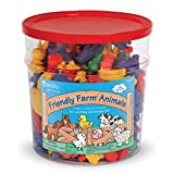 Learning Resources Friendly Farm Animal Counters (Set of 144)