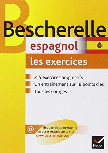 Bescherelle espagnol : Les exercices