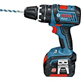 Bosch Professional GSB18VLI 18V Cordless Combi Drill with 2x3Ah Batteries
