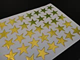 100 Gold Stars School Teacher Office Merit Reward Stickers Self Adhesive - a2bsales - amazon.co.uk