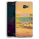DeinDesign Samsung Galaxy A3 (2016) Silikon Hülle Case Schutzhülle Volleyball Strand Beach