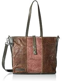 Taschendieb Td0120g, Bolsos maletín Mujer, Grau, 10x29x35 cm (B x H T)