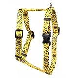 Yellow Dog Design Bandana Gelb Römischer Stil H Hundegeschirr