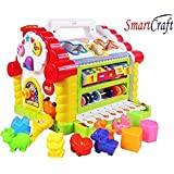 Smartcraft Colorful and Attractive Funny Cottage Educational Toy, Learning House - Baby Birthday Gift for 2 3 Year Old Boy Girl Child - Assorted Colors