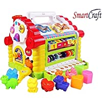 Smartcraft Colorful and Attractive Funny Cottage Educational Toy, Learning House - Baby Birthday Gift for 2 3 Year Old…