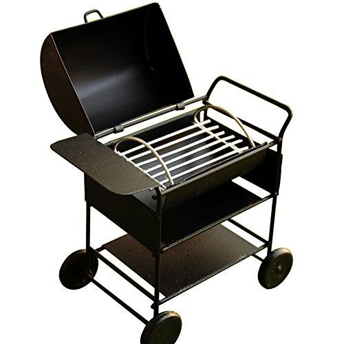 1 12 Dollhouse Miniatures Mini Picknick Grill BBQ Röstofen Metall Küchenbedarf Zubehör (Square)