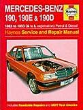 Mercedes-Benz 190, 190E and 190D (83-93) Service and Repair Manual