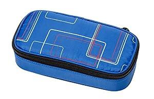 Schneiders Vienna 49031070Estuche Escolar de Frame, Aprox. 21x 10x 6cm, Color Azul
