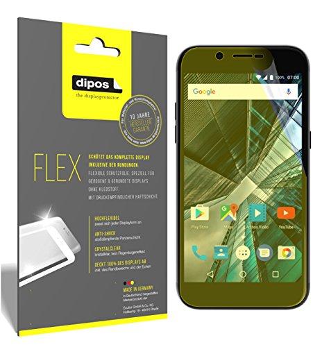 dipos I 3X Schutzfolie 100% passend für Archos 50 Graphite Folie (Vollständige Bildschirmabdeckung) Bildschirmschutzfolie
