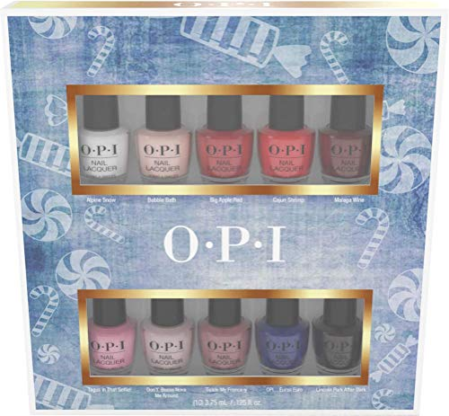 OPI Nail Lacquer Mini Kit - The Nutcracker 10 Pack, 15 ml