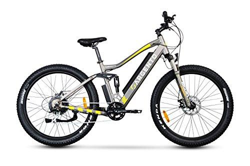 Argento Performance PRO, Bici Elettrica Unisex – Adulto, Giallo, Telaio da 46 cm