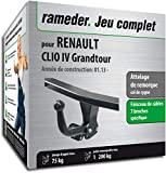 Rameder Attelage démontable avec Outil pour Renault Clio IV Grandtour + Faisceau 7...
