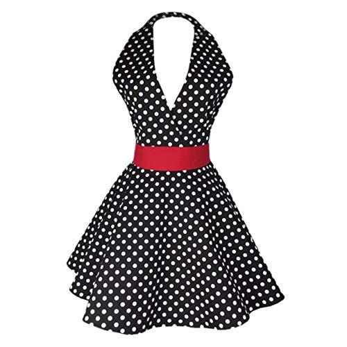 Vestido De Delantal Para Mujer