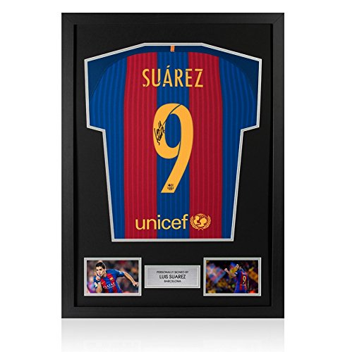 Framed-Luis-Suarez-Signed-Barcelona-Shirt-2016-2017-Number-9