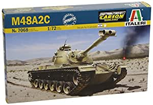 Italeri - I7068 - Maquette - Char D'assaut - M48 A2c