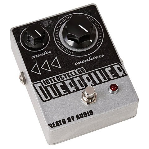Death By Audio Interstellar Overdriver · Pedal guitarra eléctrica