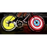 TOMOUNT Support smartphone APP android and iPhone Bluetooth connection Cycle Bike Bicycle VTT Colorful Wheel Spoke Light 192 Pcs RGB LEDs Programmable DIY