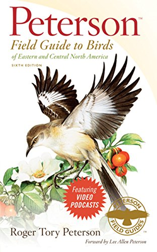 Peterson Field Guide to Birds of Eastern and Central North America, Sixth Edition (Peterson Field Guides) - Audubon Feeder