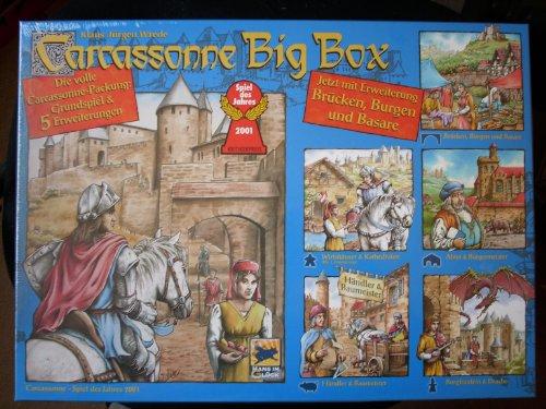 Carcassonne Big Box - Grundspiel & 5 Erweiterungen