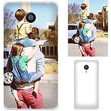 Meizu MX4 Pro Funda, CaseMa-EU Imagen personalizada de teléfono personalizada Suave Personalized Customized TPU Caso cáscara Cubierta Carcasa Case Cover para Meizu MX4 Pro (DIY) + 1x pie de apoyo (color al azar)