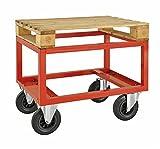 Palettenwagen - niedrig | Unsere Palettenwagen sind geeignet für Paletten mit den Abmessungen 800x600mm bzw. 1200x800 mm.