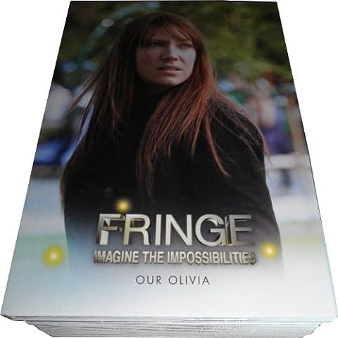 2013 Cryptozoic Fringe Seasons 3 & 4 Complete 73 Card Basic Set