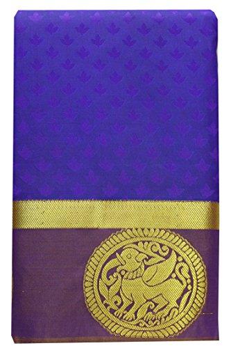 SARAVANABAVA SILKS Women's Art Silk Saree (Srbs000594_Shaded Voilet)