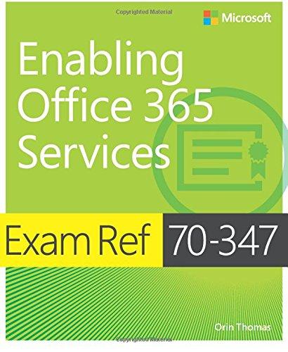 Preisvergleich Produktbild Exam Ref 70-347 Enabling Office 365 Services