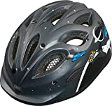 Abus Smiley Children's Helmet black Space Police Size:S by Abus