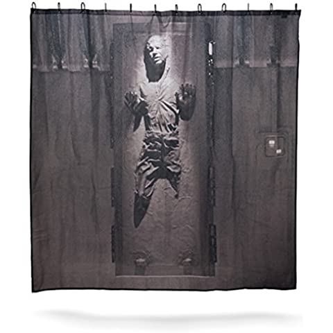 STARFISH Star Wars Han Solo in Carbonite Shower Curtain
