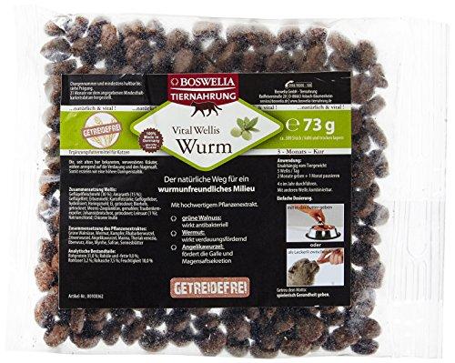 Boswelia Vital Wellis Katze Wurm Getreidefrei 73 g / circa 300 Stück im Beutel, 1er Pack