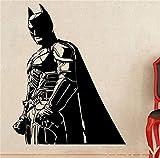 stickers muraux stickers muraux chambre Batman Sticker Mural Sticker Batman Sticker Mural Chevalier Noir Super-Héros Marvel Comics Décalque De Vinyle Maison Décoration Intérieure