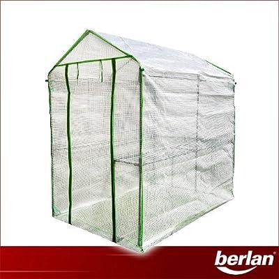 Berlan Gewächshaus 186 x 120cm BGH186X120-PE von Berlan - Du und dein Garten