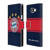 Head Case Designs Offizielle FC Bayern Munich Away 2017/18 Logo Kit Brieftasche Handyhülle aus Leder für Samsung Galaxy A5 (2016)