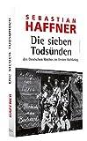 Die sieben Tods?nden des Deutschen Reiches im Ersten Weltkrieg