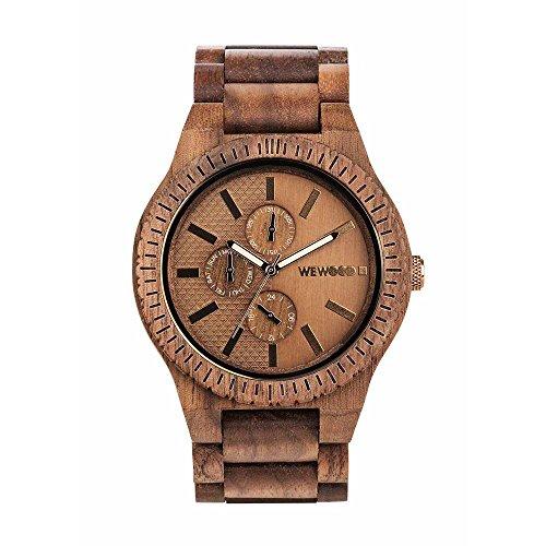 WEWOOD Reloj Analógico para Hombre de Cuarzo con Correa en Madera WW30004