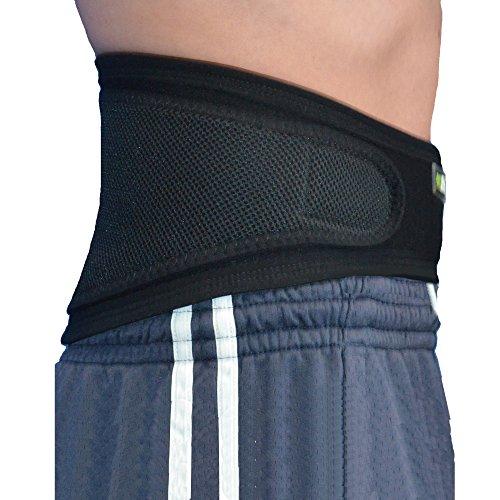 Faja Lumbar (XL/NEGRO) - Cinturón de Protección Lumbar UNICA