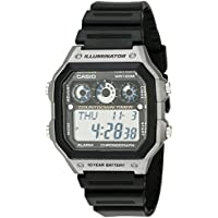 Casio AE-1300WH-8AVEF Men's Black Digital Sports