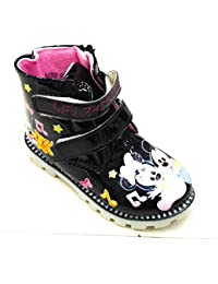 KIDS GIRL MICKY PRINTED.LONG BOOT