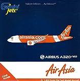 Gemini Jets Airasia A320neo 9M-Aga 1:400 Scale Model Airplane Die Cast Aircraft