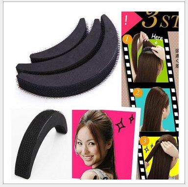 Homeoculture set of hair puff volumizer , Banana bumpits and tictic