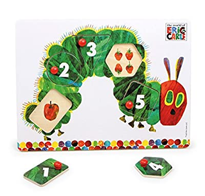 The Very Hungry Caterpillar Peg Puzzle, By Rainbow Designs from Rainbow Designs