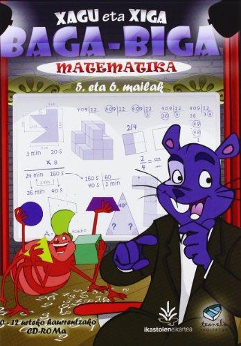 (cd-Rom) Lh 5/6 - Txanela - Matematika (xagu Eta Xiga) (Testuliburu Berriak) por Batzuk
