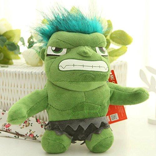 Cengbao Avengers rag doll Plüsch Spielzeug Puppe kind Puppe Geburtstag geschenk hochzeit, Hulk, siehe Details (Captain America-spiele F)