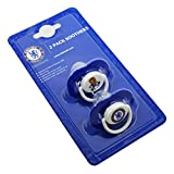 Chelsea FC Official Football Crest Baby Dummies/Soothers