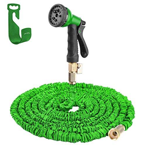 yardsky Gartenschlauch Flex 7,5 m bis 20 m Flexibler Wasserschlauch Magic dehnbar Garden Hose mit Düse Set