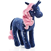 Schmidt Spiele 42243 Unicornio Felpa Azul, Rosa juguete de peluche - Juguetes de peluche (Unicornio, Azul, Rosa, Felpa, 367 g)