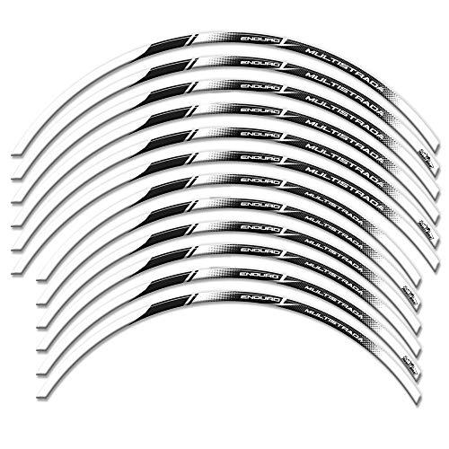 Adhésifs Resin 3D pour Jantes 17 E 19 \